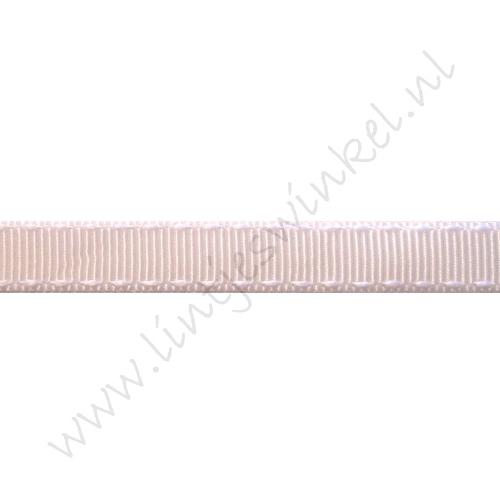 Ripsband Sattelstich 10mm - Weiß Weiß