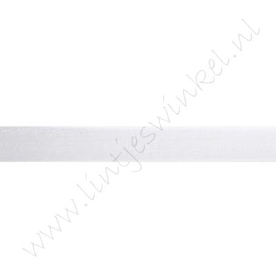 Organza 10mm - Weiß