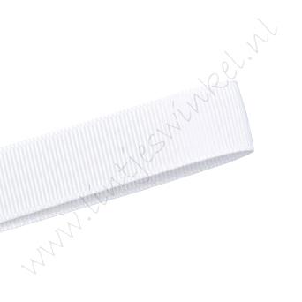 Ripsband 16mm - Weiß (029)