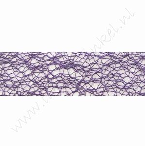 Crispy (Netz) Band 30mm (Rolle 10 Meter) - Lila