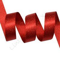 Metallic Satinband 10mm - Rot Gold (250)