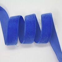 Samtband 6mm - Dunkel Blau