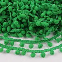 Bommelband 10mm (Maß Pompom) - Grün