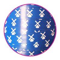 Ringelband 10mm - Mühle Blau