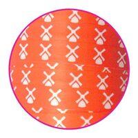 Ringelband 10mm - Mühle Orange
