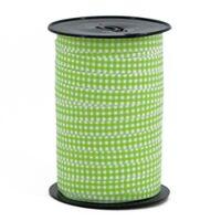 Ringelband 10mm - Karo Apfelgrün