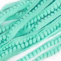 Bommelband 6mm (Maß Pompom) - Tiffany