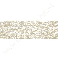 Crispy (Netz) Band 30mm (Rolle 10 Meter) - Natural Sand
