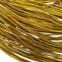 Gummiband Rund 1,5mm - Gummikordel Gold