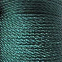 Gedrehte Kordel 2mm - Grün Blau (257)