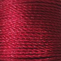 Gedrehte Kordel 2mm - Bordeaux Rot (192)