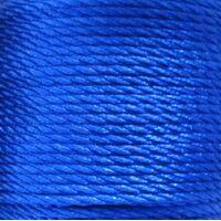 Gedrehte Kordel 2mm - Dunkel Blau (368)
