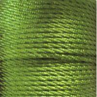 Gedrehte Kordel 2mm - Olivgrün (214)