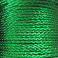 Gedrehte Kordel 2mm - Grün (233)