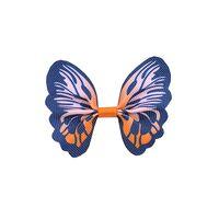 Schmetterling 65x50mm - Ripsband Orange Marine