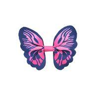 Schmetterling 65x50mm - Ripsband Pink Marine