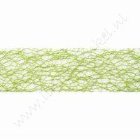 Crispy (Netz) Band 30mm (Rolle 10 Meter) - Apfelgrün