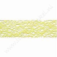 Crispy (Netz) Band 30mm (Rolle 10 Meter) - Lime Grün
